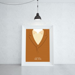 Fantastyczny Pan Lis Plakat Filmowy