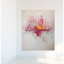 SPRZEDANY - Abstrakcja 26 - obraz akrylowy