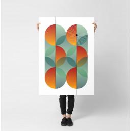 LATO 2 - nowoczesny plakat...