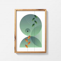 LATO 3 - nowoczesny plakat...